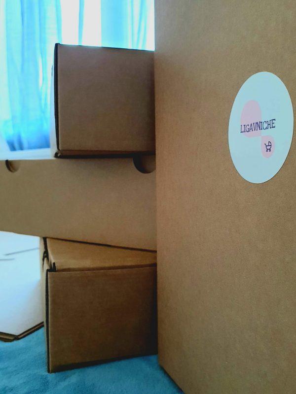 Коледен комплект 2 части Първа Коледа в бяло и червено (Размер 74) код: 40171 Бебешки дрехи бебешки дрешки