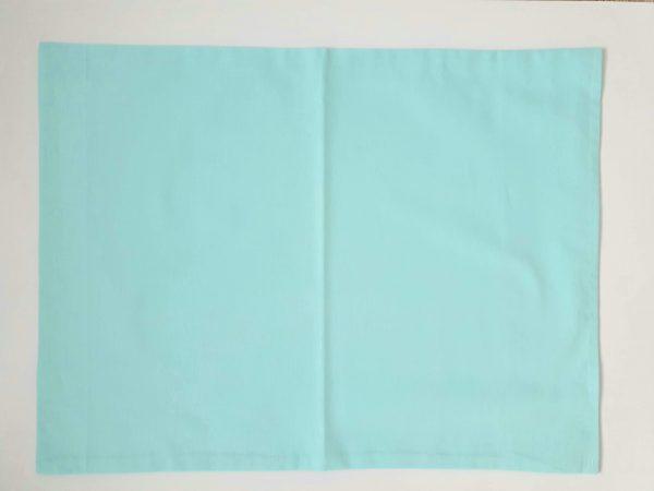 Калъфка за бебешка възглавница – Синя Калъфки за възглавници 100% памук