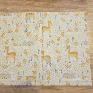 Калъфка за бебешка възглавница – Сърнички Калъфки за възглавници 100% памук