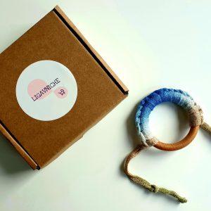 Бебешки чесалки за зъбки – преливащо бежаво и синьо код: 7938 Чесалки за зъби бебе