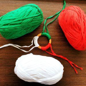 Бебешки чесалки за зъбки – бяло, зелено и червено код: 5009 Чесалки за зъби бебе
