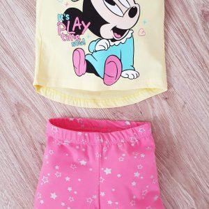 Комплект за Момиче в розово и жълто 68-80 код: 38811 Бебешки дрехи бебешки дрехи