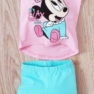 Комплект за Момиче в розово и синьо 68-80 код: 35056 Бебешки дрехи