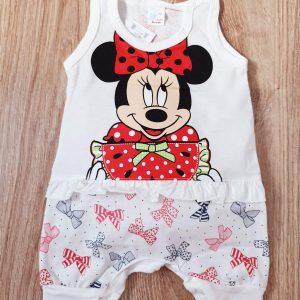 Бебешки гащеризон Момиче с Панделки 56-80 код: 10155 Бебешки дрехи бебешки гащеризон