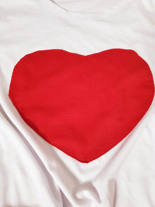 Комплект за мама – пола с тениска в червено код: 34568 Рокли За Мама дрехи за мама