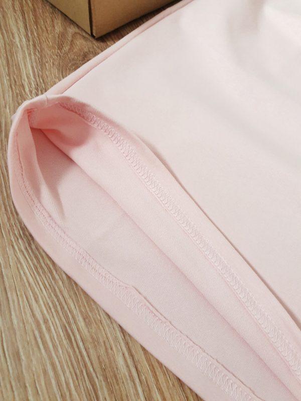 Комплект за мама – пола с тениска в пепеливо розово код: 39010 Рокли За Мама дрехи за мама