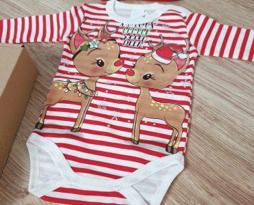Бебешки коледни дрехи - идеи за подарък за бебе