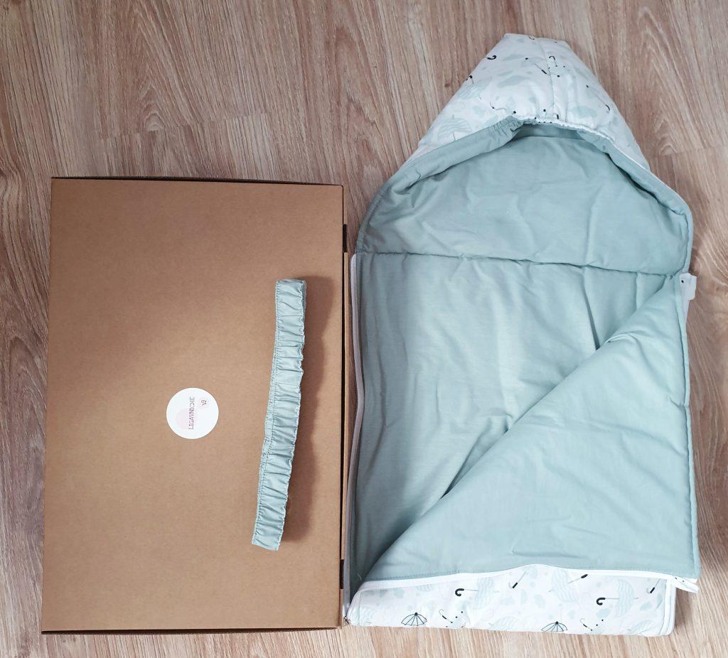 Порт бебе - подплатено с вата и коланче може да намерите в ligavniche.com
