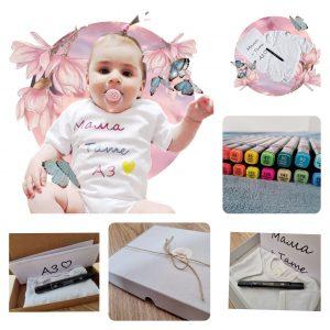 Бебе Арт Мини Кутия код: 50772 Готови подаръчни сетове бебешки дрешки